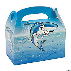 Paper Jawsome Shark Treat Boxes