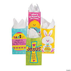 Paper Jesus Is the Reason For the Season Treat Bags