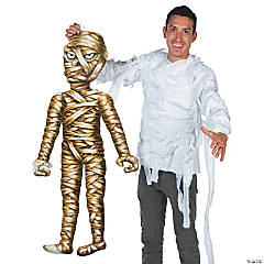Paper Jointed Mummy Cutout