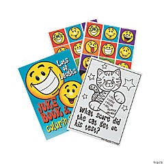 Paper Jokes Coloring And Activity Books