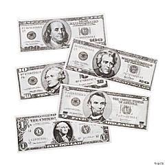 Paper Jumbo Play Money