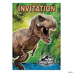 Paper Jurassic World™ Invitations