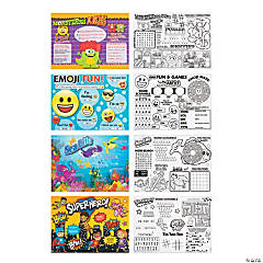 Paper Kids Rule™ Place Mat Assortment 4