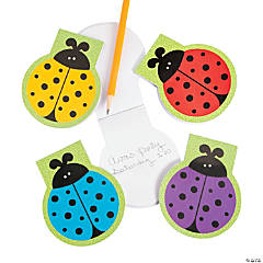 Paper Lady Bug Die Cut Notepads
