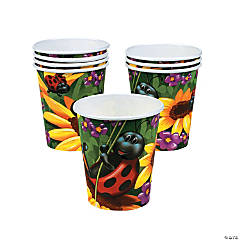 Paper Ladybug Cups