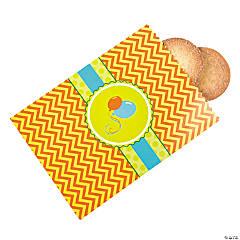 Paper Little Alligator Cake Bags