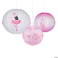 Paper Little Ballerina Lanterns