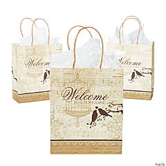 Paper Love Birds Medium Gift Bags