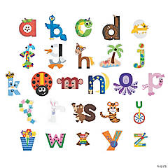 Paper Lowercase Letters Craft Kits