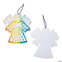 Paper Magic Color Scratch Angel Ornament