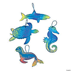 Paper Magic Color Scratch Ocean Animal Ornaments