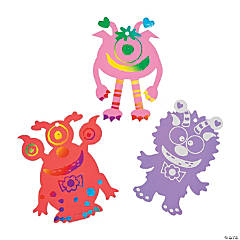 Paper Magic Scratch Valentine Monsters
