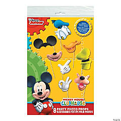 Paper Mickey Mouse Photo Stick Props