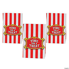 Paper Mini Big Top Treat Bags with Tape