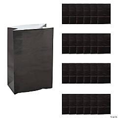 Paper Mini Black Treat Bags