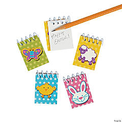 Paper Mini Easter Spiral Notepads