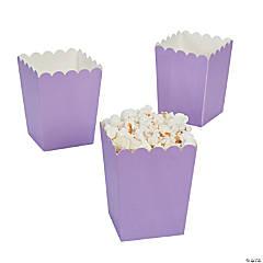 Paper Mini Lilac Popcorn Box