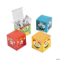 Paper Mini Monster Gift Boxes