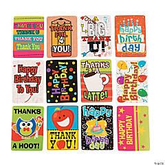 Paper Mini Note Cards