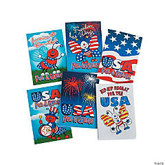 Paper Mini Patriotic Activity Books
