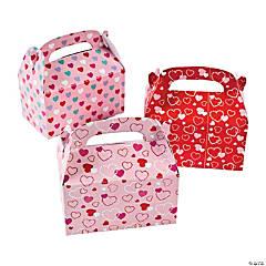 Paper Mini Valentine's Day Boxes For Treats