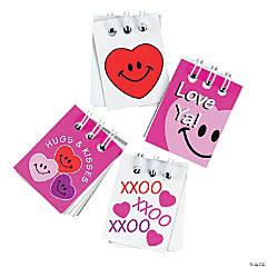 Paper Mini Valentine Spiral Notepads