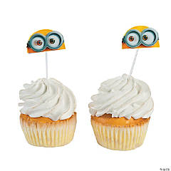 Paper Minions™ Cupcake Picks