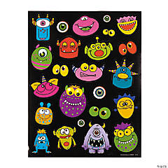 Paper Monster Stickers