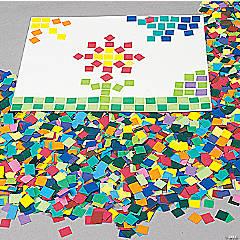 Paper Mosaic Squares 10000 pc