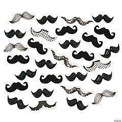 Paper Mustache Confetti