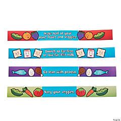 Paper My Plate Reminder Bracelets