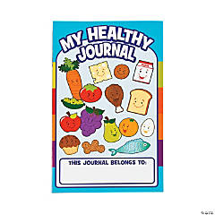 Paper MyPlate Healthy Eating Journals