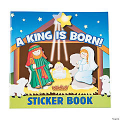 Paper Nativity Sticker Books