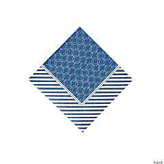 Paper Nautical Wedding Beverage Napkins