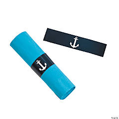 Paper Nautical Wedding Napkins Rings