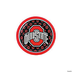 Paper NCAA™ Ohio State Buckeyes Dessert Plates