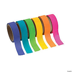 Paper Neon Washi Tape Set