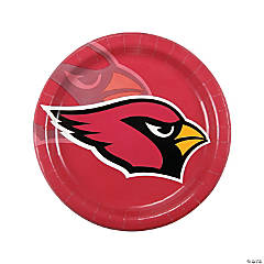 Paper NFL® Arizona Cardinals™ Dinner Plates