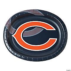 Paper NFL® Chicago Bears™ Oval Dinner Plates