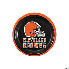 Paper NFL® Cleveland Browns™ Dessert Plates