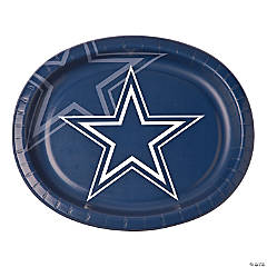 Paper NFL® Dallas Cowboys™ Oval Dinner Plates