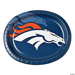 Paper NFL® Denver Broncos™ Oval Dinner Plates
