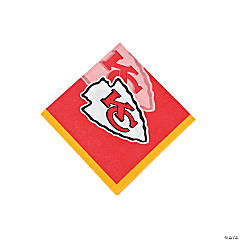 Paper NFL® Kansas City Chiefs™ Beverage Napkins