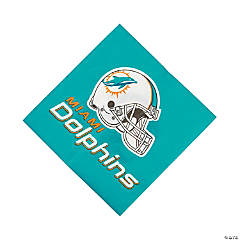 Paper NFL® Miami Dolphins™ Luncheon Napkins