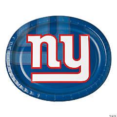 Paper NFL® New York Giants™ Oval Dinner Plates