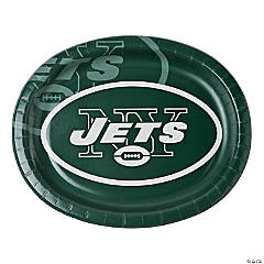 Paper NFL® New York Jets™ Oval Dinner Plates