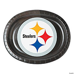 Paper NFL® Pittsburgh Steelers™ Oval Dinner Plates