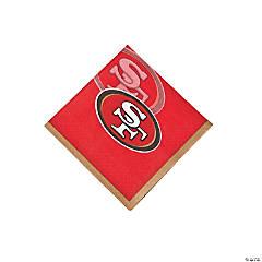 Paper NFL® San Francisco 49ers™ Beverage Napkins