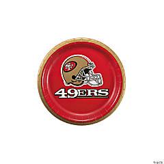 Paper NFL® San Francisco 49ers™ Dessert Plates
