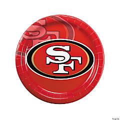 Paper NFL® San Francisco 49ers™ Dinner Plates